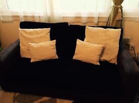 Living room sofas Final offer. £120.