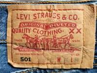 Levi Strauss 501 W34 L36