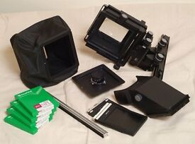 Arca-Swiss 5x4 monolith camera in good condition with as-new Fujinon 135mm lens
