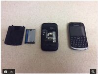 2 blackberrys mobile phones as sold as seen in picture