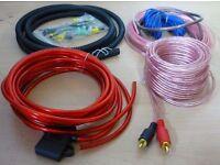 1000W Complete 10 GAUGE Car Amp Amplifier Cable Speaker Subwoofer Wiring Kit
