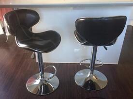 2 bar chairs