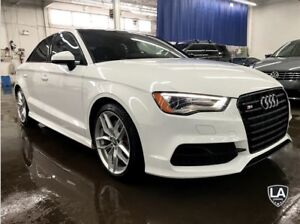2016 Audi S3 2.0T, ADVANCED HANDLING, BLACK OPTICS, NAV! *$249*