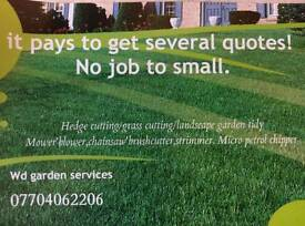 Garden services & power washing / pressure washing