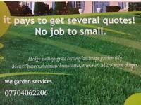 Garden services & power washing / pressure washing