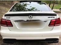 Mercedes E63 W212 Carbon Spoiler ducktail V style