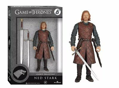 Funko Legacy Collection Got Game Of Thrones Ned Stark  6  Action Figure Hbo New