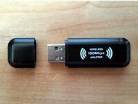 WIFI 150Mbps WIRELESS ADAPTOR 802.11 B G N LAN NETWORK USB DONGLE ADAPTER High Speed Data Transfer