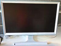 SAMSUNG S22E391HS 22-Inch LED PLS HDMI Contemporary Monitor - Gloss White & Blue £85 ovno