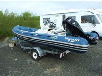 RIB Boat - Valiant V 490 with Hallmark Trailer