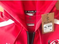 Brand New With Tags Mens XXL Kukri Ulster Rugby Full Zip Hoody RRP.£60