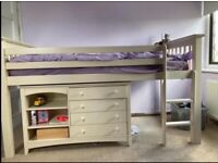 Cabin Bed with furniture included