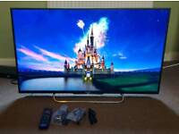 Sony bravo 43 inch supper slimline 3D smart led Android tv