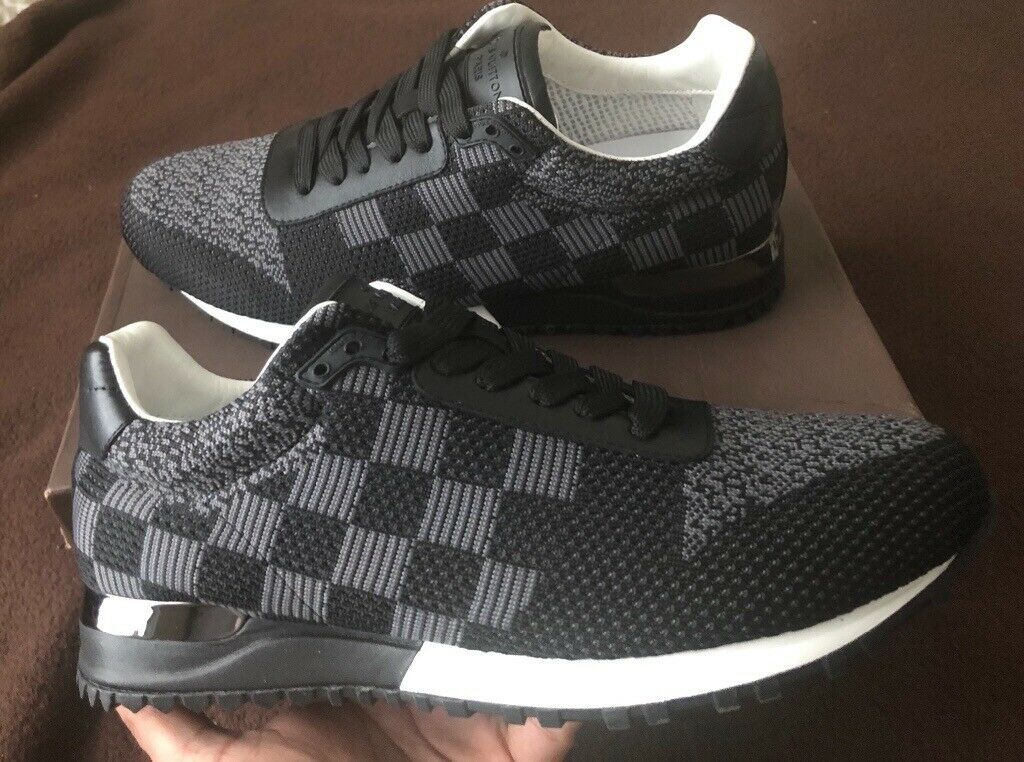 27fb5883f54 LOUIS VUITTON RUN AWAY SNEAKERS DAMIER GRAPHITE TRAINERS | in Beighton,  South Yorkshire | Gumtree