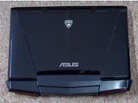 "ASUS Lamborghini VX7 15.6"" Laptop 16GB RAM, i7, GeForce GTX460M, 1 x 750GB"