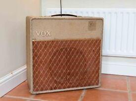 Vox AC15 Combo. Vintage 1961
