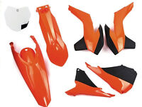 New Plastic Kit KTM SX SXF 125/250/350/450 13-15 Racetech Plastics OEM Orange