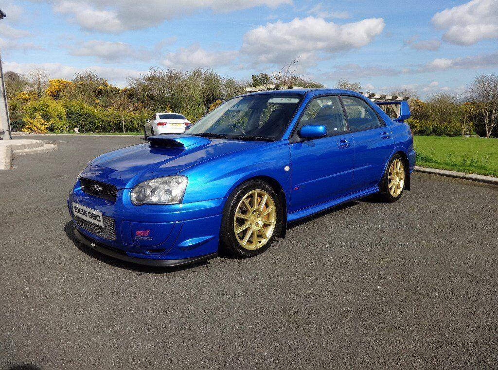 Subaru Impreza WRX-STI Type UK 2005 - 323BHP With printout (skyline evo bmw  chaser twincam M3 M5) | in Newry, County Down | Gumtree