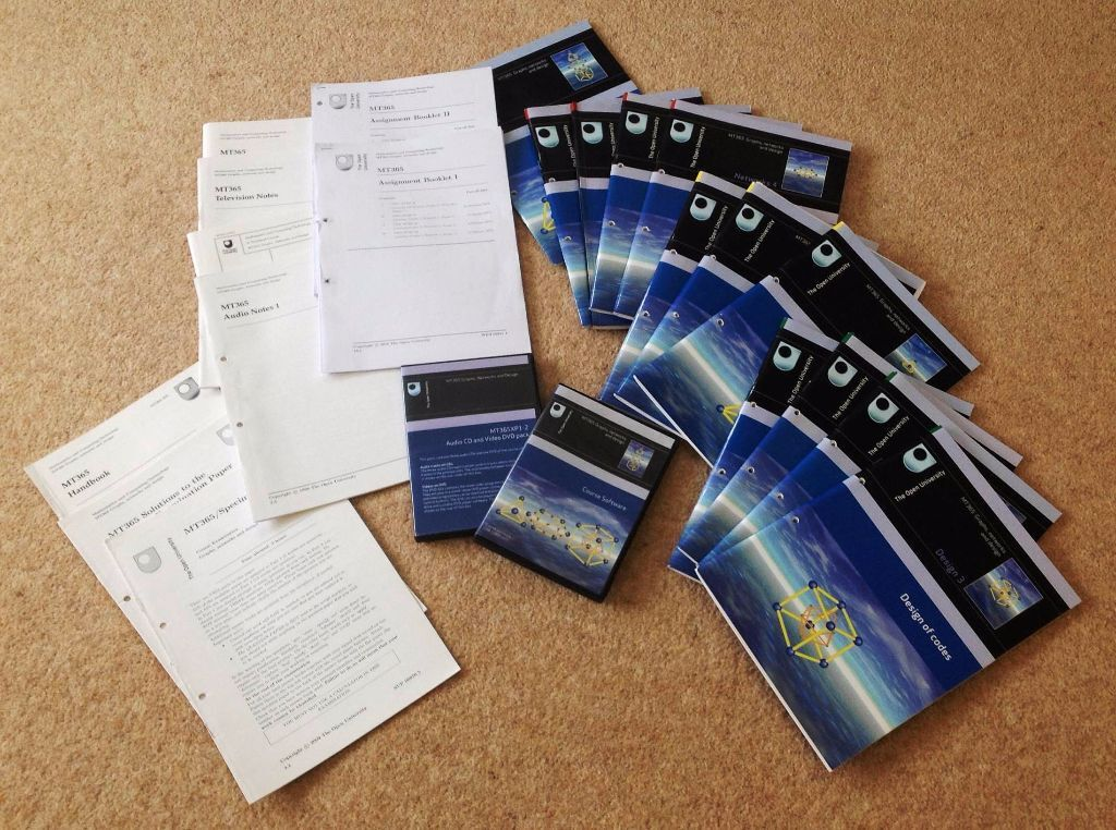 Open university used course material- wher could it be sold?