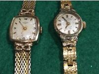 Rotary, Two Vintage rare automatic watches