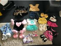 Build a bear outfits and accessories bundle