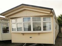 Luxury Static Caravan for Sale- Double Glazed and Central Heated