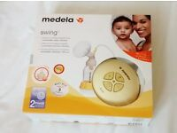 Medela Swing Electric 2-phase breastpump £50 - excellent condition and extra accessories included