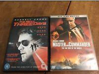 Russell Crow DVD Film Bundle