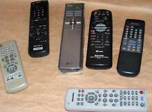 TV DVD VCR remote control: Sony, LG, Sharp, E.Polit, One for all. Lidcombe Auburn Area Preview