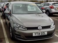 VOLKSWAGEN GOLF 2.0 TDI SE (grey) 2014