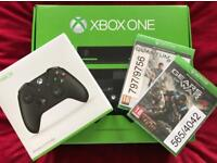 Xbox one + Kinect 500gb (2 games)