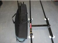 Camera Track and Dolly with bag. Hague D5