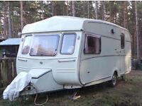 Rare 1985 classic Castleton Rosella HL 2 berth touring caravan