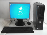 Dell GX620 (Dual Core, PC, Monitor, K/M) Acdsee 2018, Office 2010, All In One, Computer, Desktop PC