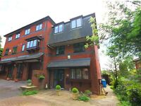 SEA VIEWS! 4 DOUBLE BED, 3 BATH + OFFICE TOWNHOUSE WITH GARDEN, PARKING & GARAGE IN LOWER PARKSTONE