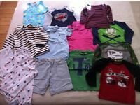 Bundle of boys clothes size 4-5 years