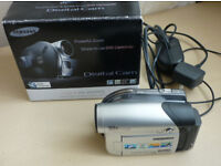 SAMSUNG VP-DC161 DIGITAL DVD CAMCORDER