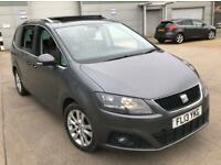 2013 SEAT ALHAMBRA 2.0 TDI SE LUX DSG *FULLY LOADED SPEC*