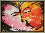 Herman Brood | Giclée: The Kiss,  Afmeting: 80cm x 110cm