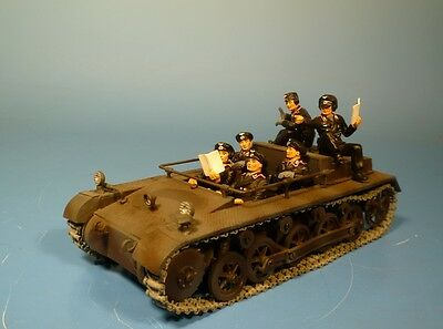 Original Lineol – Wehrmacht - Metall - Fahrschulpanzer - für 7cm Figuren