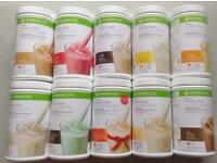 Herbalife - all products available from shakes, starter kits, tablets etc...
