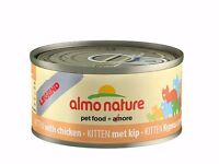 24x Tins of Almo Nature Legend Kitten Food (or underweight cat) Top quality cat food at half price