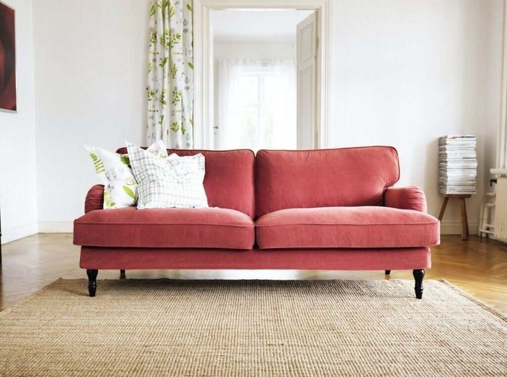 Stocksund 3 Seater Sofa Loose Cover Nearly New Condition
