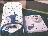Mothercare bouncy chair with music & vibrations