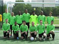 Mens Saturday 11 aside football team in London, players wanted :11 aside football london