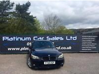 BMW 5 SERIES 525D M SPORT (black) 2005