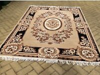 Large Patterned Rug 160cm x 220cm Very Good Condition £20