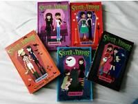 5 Books - My Sister The Vampire Series
