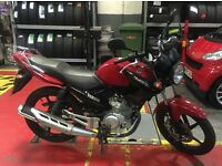 2014 YAMAHA YBR 125 RED