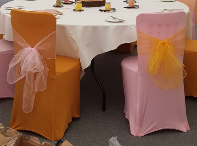 Strange Pink Gold Wedding Chair Covers And Sashes In Moffat Dumfries And Galloway Gumtree Bralicious Painted Fabric Chair Ideas Braliciousco